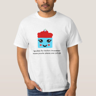 Kawaii Cupcakes for Autism Awareness T-Shirt