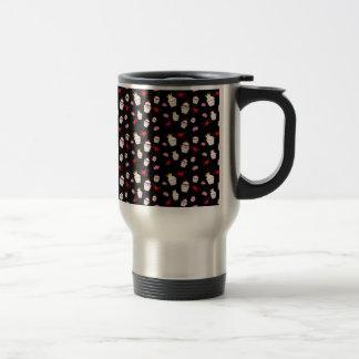 Kawaii Cupcakes Pattern accessories Stainless Steel Travel Mug