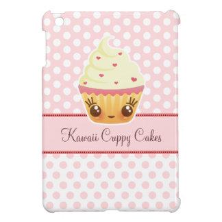 Kawaii Cuppy Cake on Pink - Custom iPad Mini Case