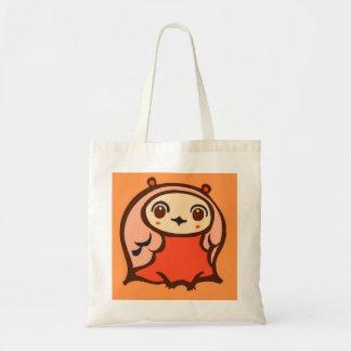 Kawaii Curious Owl Tote Bag