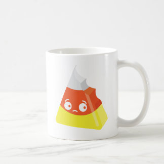Kawaii Cute Bitten Candy Corn Coffee Mug