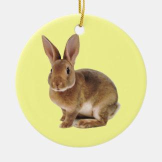 Kawaii Cute Bunny Rabbit Christmas Ornaments
