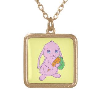 Kawaii Cute Cartoon Bunny Rabbit Carrot Necklaces