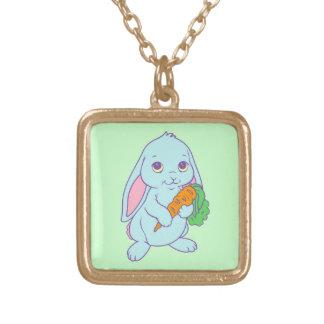 Kawaii Cute Cartoon Bunny Rabbit Carrot Pendants