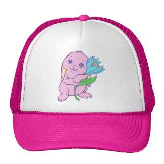 Kawaii Cute Cartoon Bunny Rabbit Flower Hats