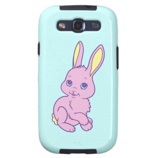 Kawaii Cute Cartoon Bunny Rabbit Galaxy S3 Case