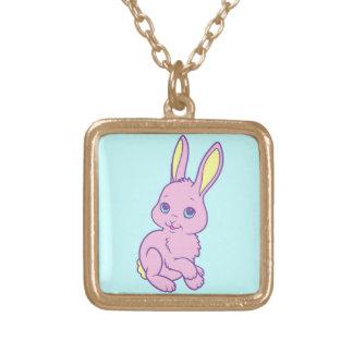 Kawaii Cute Cartoon Bunny Rabbit Personalized Necklace