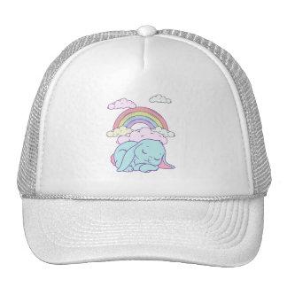 Kawaii Cute Cartoon Bunny Rabbit Rainbow Hat
