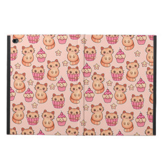 Kawaii Cute Cats and Cupcakes Pink Pattern Powis iPad Air 2 Case