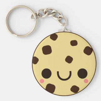 kawaii cute Chocolate chip cookie Keychain