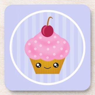Kawaii Cute Cupcake Cork Coaster corkcoaster