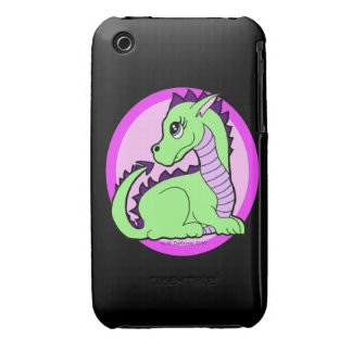 Kawaii Cute Dragon iPhone 3 Case