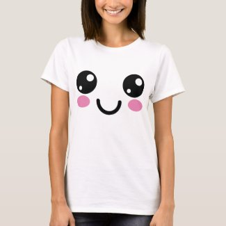Kawaii Cute Face || Smile Face T-Shirt