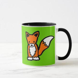 Kawaii Cute Fox Customizable Design Mug