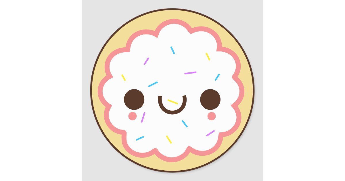 kawaii cute frosted sugar cookie sticker zazzle com bridal clipart his and hers rings bridal clipart flowers