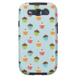 Kawaii cute girly cupcake cupcakes foodie pattern galaxy s3 cases