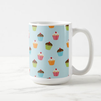 Kawaii cute girly cupcake cupcakes foodie pattern coffee mug