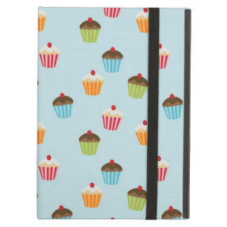 Kawaii cute girly cupcake cupcakes foodie pattern cover for iPad air