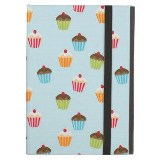 Kawaii cute girly cupcake cupcakes foodie pattern cover for iPad air