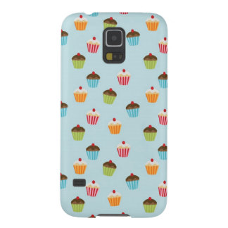 Kawaii cute girly cupcake cupcakes foodie pattern galaxy s5 cover