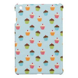 Kawaii cute girly cupcake cupcakes foodie pattern iPad mini case