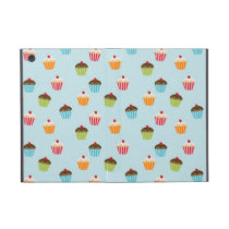 Kawaii cute girly cupcake cupcakes foodie pattern iPad mini cover