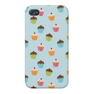 Kawaii cute girly cupcake cupcakes foodie pattern iPhone 4/4S case