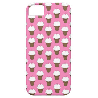 Kawaii cute girly ice cream cone food pattern chic iPhone 5 cover
