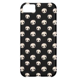 Kawaii cute goth girly skull emo polka dot pattern iPhone 5C case