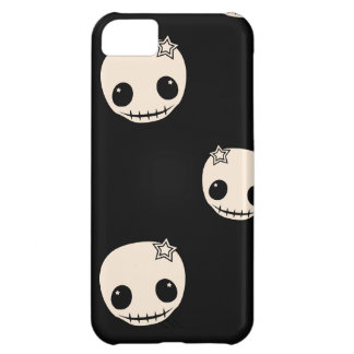 Kawaii cute goth girly skull emo skulls pattern iPhone 5C case
