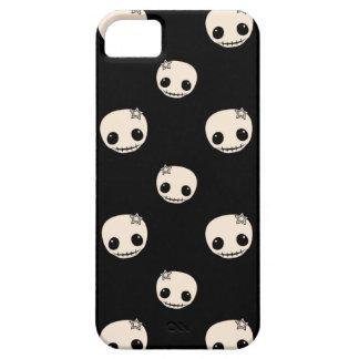 Kawaii cute goth girly skull emo skulls pattern iPhone 5 cover
