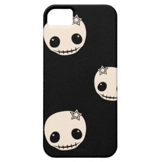 Kawaii cute goth girly skull emo skulls pattern iPhone 5 covers