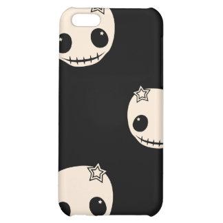 Kawaii cute goth girly skull emo skulls pattern case for iPhone 5C