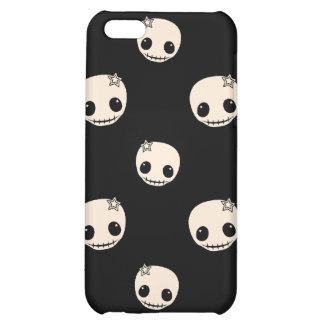 Kawaii cute goth girly skull emo skulls pattern iPhone 5C covers