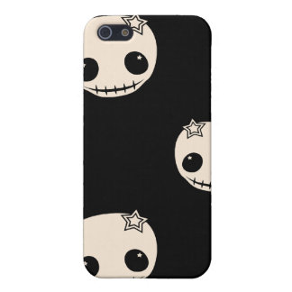 Kawaii cute goth girly skull emo skulls pattern cases for iPhone 5