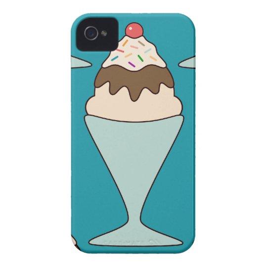 Kawaii cute ice cream sprinkles sundae dessert iPhone 4 cover