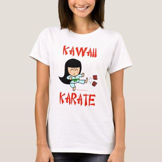 kawaii cute martial arts chibi karate T-Shirt