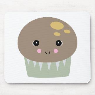 kawaii cute muffin mouse pad