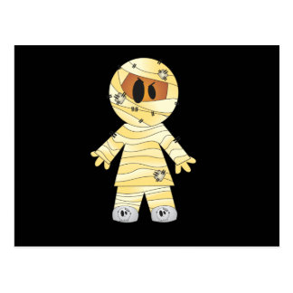 Kawaii Cute Mummy Halloween Postcard