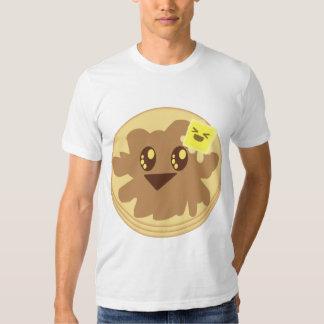 Kawaii Cute Pancakes Cartoon Shirt