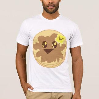 Kawaii Cute Pancakes Cartoon T-Shirt