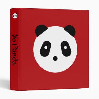 Kawaii ~ Cute Panda Face Binder