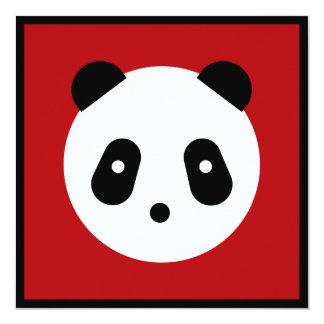 Kawaii ~ Cute Panda Face Card