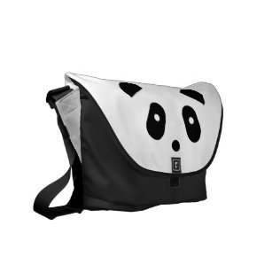 Cute Kawaii Panda Face Laptop   Messenger Bags  a49c7f14027e3