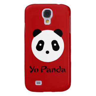 Kawaii ~ Cute Panda Face Galaxy S4 Cover