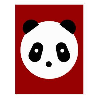 Kawaii ~ Cute Panda Face Postcard