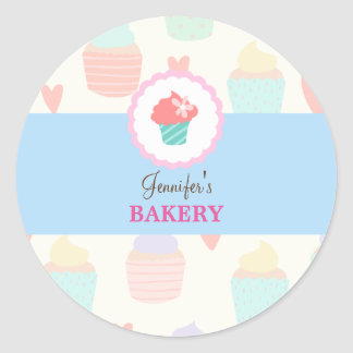 Kawaii Cute Pastel Bakery Sticker Label