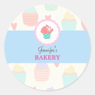 Kawaii Cute Pastel Bakery Sticker Label