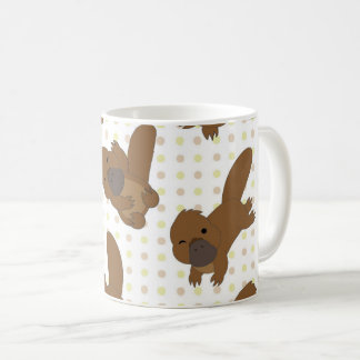 Kawaii Cute Platypus Mug
