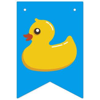 Kawaii Cute Rubber Ducky Bunting Flags